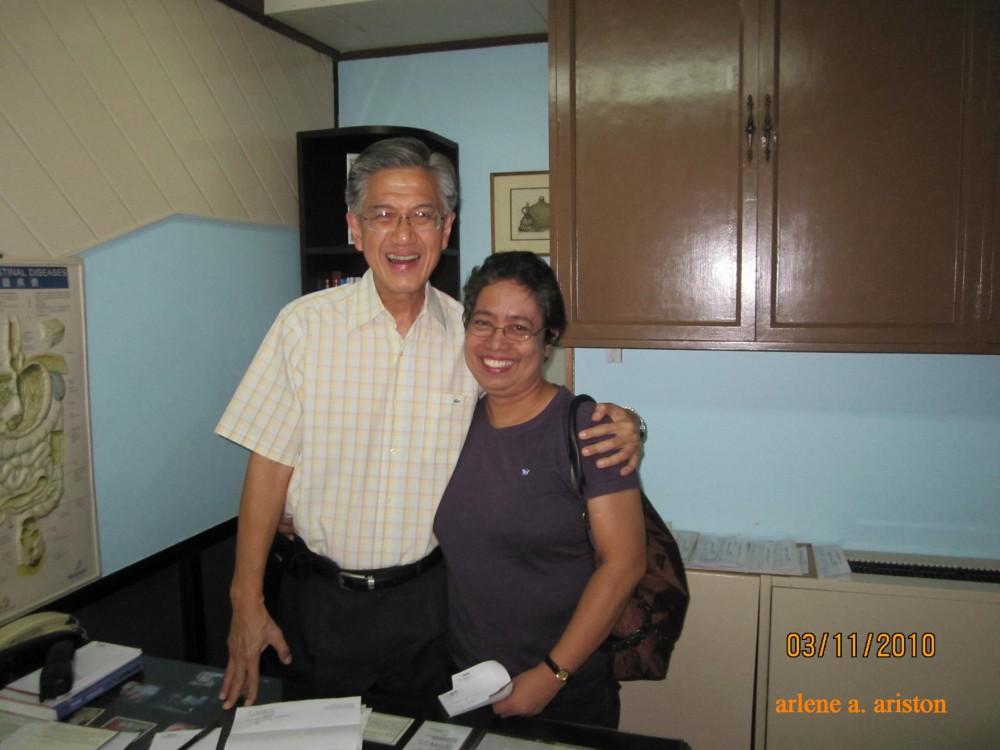 On Meeting  Dr.Samuel Ang Again (1/2)