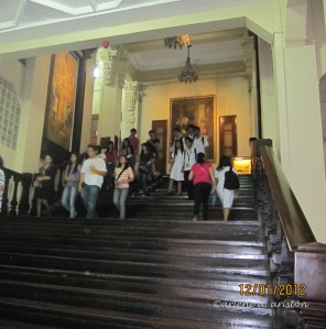 Walking Through History (Revisiting the University of Santo Tomas Museum)
