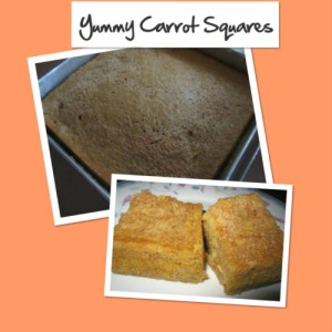 carrot squares