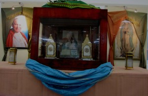 The reliquary where Saint Paul II first class relics are displayed. ©Dreams and Escapes