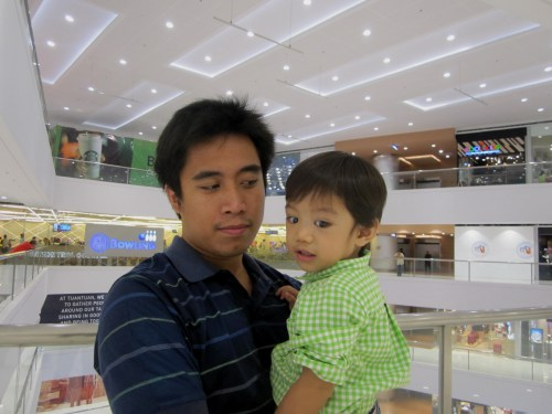 The favorite ninong, there is never a dull moment when the two of them are together.