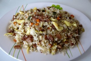 Fried rice is a stand- alone meal mostly served in Chinese restaurants.