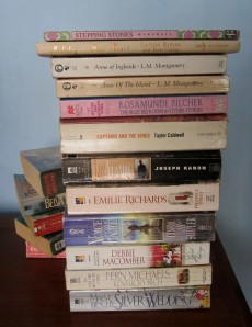 When I think of all the books still left for me to read, I am certain of further happiness. ~Jules Renard