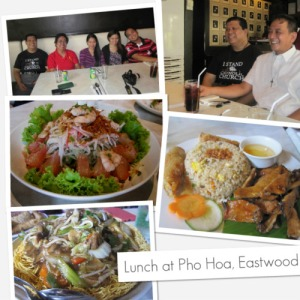 Pho Hoa Vietnamese Noodle House at Eastwood City
