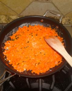 Richard Paul Evan's fried rice. It does look yummy!