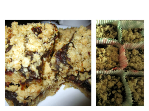 Date Squares...oh so yummy!