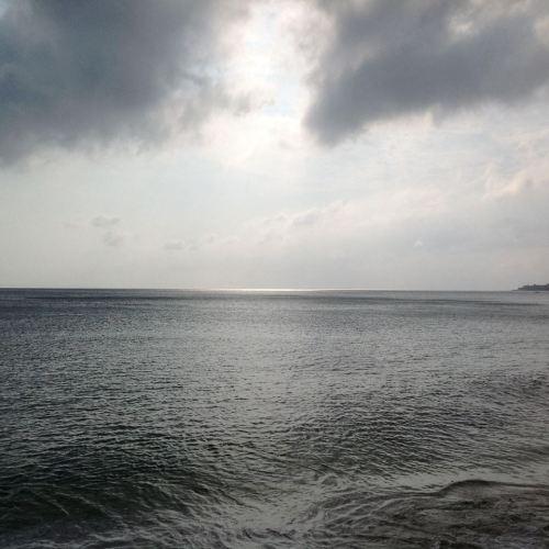 Sunset scene at Calayan