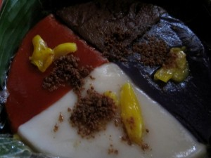 Desserts - rice cakes from Cainta