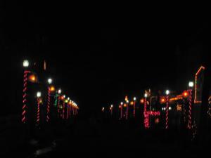 Violet St. at night....