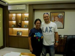With Atty. Kit Nieto , Mayor of Cainta, Rizal
