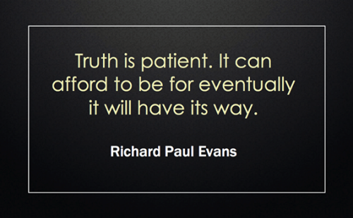 another lovely quote from Richard Paul Evans...