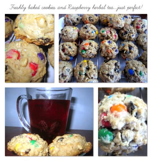 Oatmeal Raisin cookies...