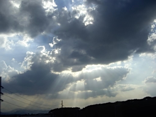 One of my favorite shots of a favorite subject....clouds.