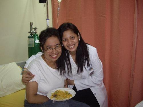 I remember this....spending my 53rd birthday at the UST Benavidez Cancer Institute while having my 4th chemotherapy. With one of my oncologists, Doc Julie!