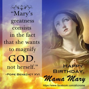 Happy Birthday Mama Mary Dreams And Escapes