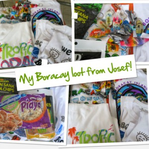 My Boracay loot
