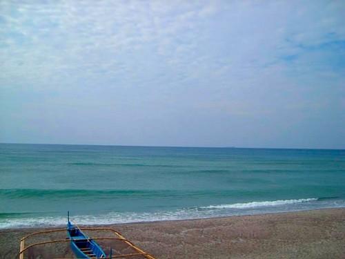 When the ocean  meets the sky