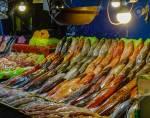 Fish market in Manila,Philippines